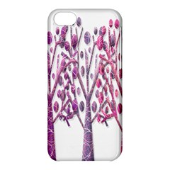 Magical pink trees Apple iPhone 5C Hardshell Case