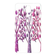 Magical pink trees Samsung Galaxy Note 3 N9005 Hardshell Back Case