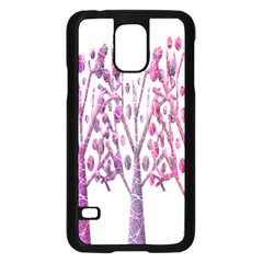 Magical pink trees Samsung Galaxy S5 Case (Black)