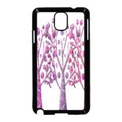 Magical pink trees Samsung Galaxy Note 3 Neo Hardshell Case (Black)