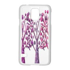 Magical pink trees Samsung Galaxy S5 Case (White)