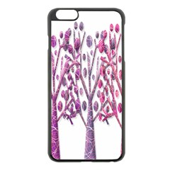 Magical pink trees Apple iPhone 6 Plus/6S Plus Black Enamel Case