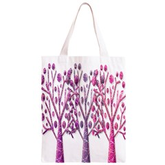 Magical pink trees Classic Light Tote Bag
