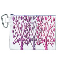 Magical pink trees Canvas Cosmetic Bag (XL)