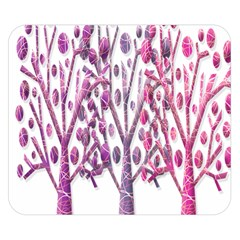 Magical pink trees Double Sided Flano Blanket (Small)