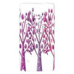Magical pink trees Galaxy Note 4 Back Case