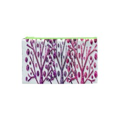 Magical pink trees Cosmetic Bag (XS)