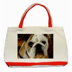 Bulldog Classic Tote Bag (Red)
