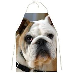 Bulldog Full Print Aprons