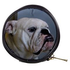 White Bulldog Mini Makeup Bags