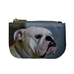 White Bulldog Mini Coin Purses