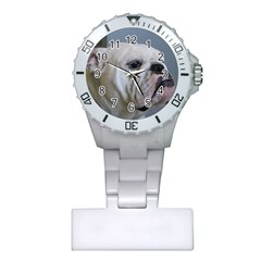 White Bulldog Plastic Nurses Watch