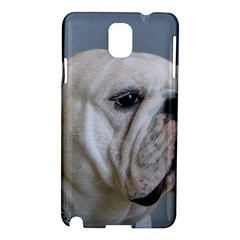 White Bulldog Samsung Galaxy Note 3 N9005 Hardshell Case