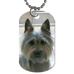 Cairn Terrier Dog Tag (One Side)