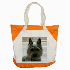 Cairn Terrier Accent Tote Bag