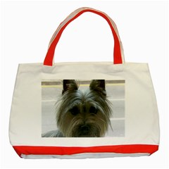 Cairn Terrier Classic Tote Bag (Red)