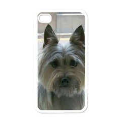 Cairn Terrier Apple iPhone 4 Case (White)