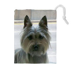 Cairn Terrier Drawstring Pouches (Extra Large)
