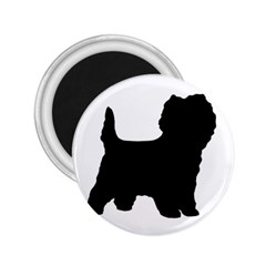Cairn Terrier Silo Black 2.25  Magnets