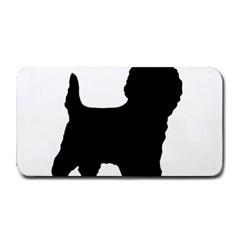 Cairn Terrier Silo Black Medium Bar Mats
