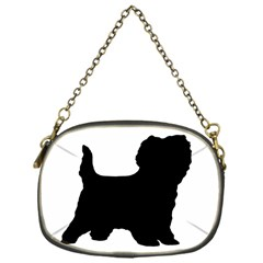 Cairn Terrier Silo Black Chain Purses (One Side)