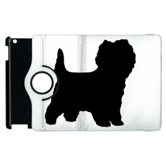 Cairn Terrier Silo Black Apple iPad 2 Flip 360 Case
