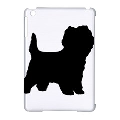 Cairn Terrier Silo Black Apple iPad Mini Hardshell Case (Compatible with Smart Cover)