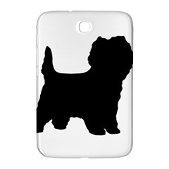 Cairn Terrier Silo Black Samsung Galaxy Note 8.0 N5100 Hardshell Case