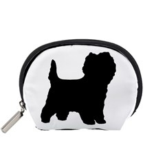 Cairn Terrier Silo Black Accessory Pouches (Small)