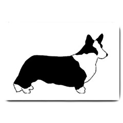 Ccardigan Welsh Corgi Silo Color Large Doormat