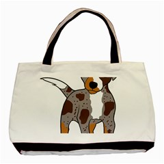 Catahoula Red Cartoon Basic Tote Bag