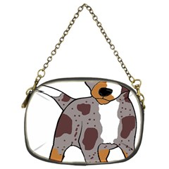 Catahoula Red Cartoon Chain Purses (Two Sides)