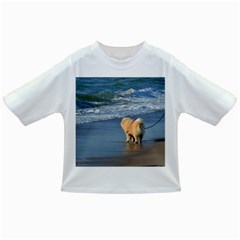 Chow Chow On Beach Infant/Toddler T-Shirts
