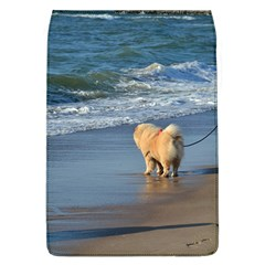 Chow Chow On Beach Flap Covers (L)
