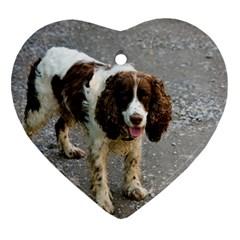 English Springer Spaniel Full Heart Ornament (2 Sides)