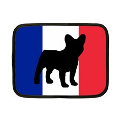 French Bulldog Silo France Flag Netbook Case (Small)