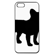 French Bulldog Silo France Flag Apple iPhone 5 Seamless Case (Black)