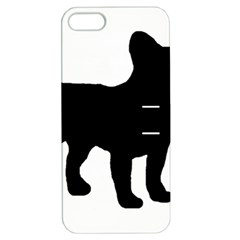 French Bulldog Silo France Flag Apple iPhone 5 Hardshell Case with Stand