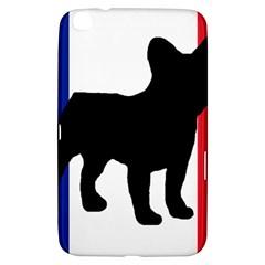 French Bulldog Silo France Flag Samsung Galaxy Tab 3 (8 ) T3100 Hardshell Case