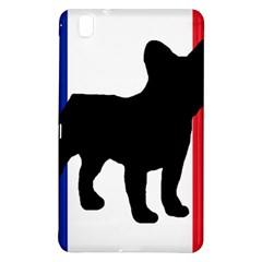 French Bulldog Silo France Flag Samsung Galaxy Tab Pro 8.4 Hardshell Case