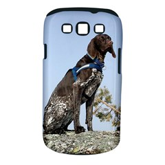 German Shorthair Pointer Sitting Samsung Galaxy S III Classic Hardshell Case (PC+Silicone)
