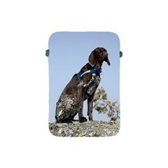 German Shorthair Pointer Sitting Apple iPad Mini Protective Soft Cases