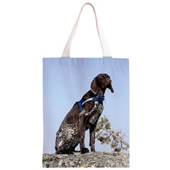 German Shorthair Pointer Sitting Classic Light Tote Bag