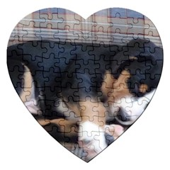 Greater Swiss Mountain Dog Puppy Jigsaw Puzzle (Heart)