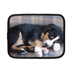 Greater Swiss Mountain Dog Puppy Netbook Case (Small)