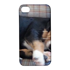 Greater Swiss Mountain Dog Puppy Apple iPhone 4/4S Hardshell Case with Stand