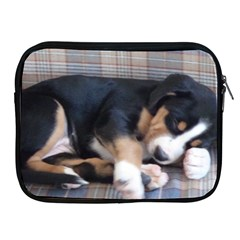 Greater Swiss Mountain Dog Puppy Apple iPad 2/3/4 Zipper Cases