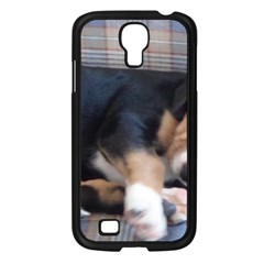 Greater Swiss Mountain Dog Puppy Samsung Galaxy S4 I9500/ I9505 Case (Black)
