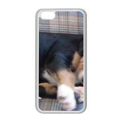 Greater Swiss Mountain Dog Puppy Apple iPhone 5C Seamless Case (White)
