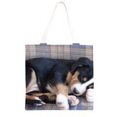 Greater Swiss Mountain Dog Puppy Grocery Light Tote Bag